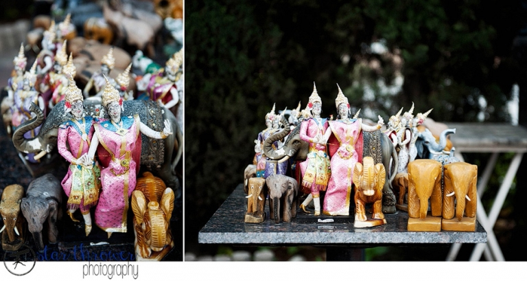 Figurines, Wat Thai, North Hollywood